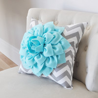 Teal Decorative Pillow
