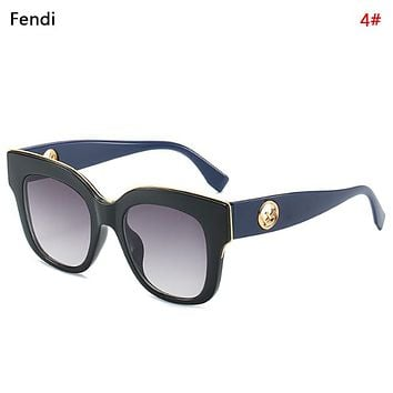 Fendi New fashion polarized glasses eyeglasses women 4#