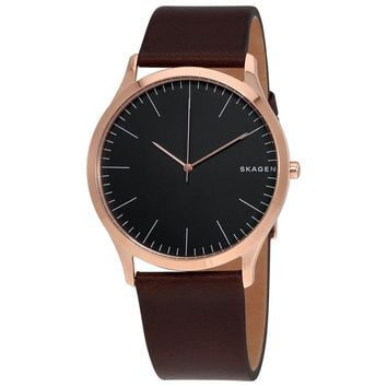 Skagen Jorn Dark Grey Dial Mens Watch SKW6330