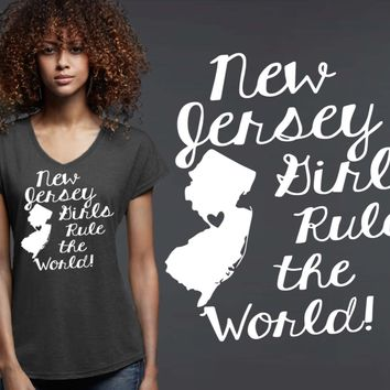 New Jersey Girls T-shirt | New Jersey State