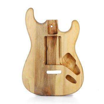DIY Electric Maple Guitar Body Replacement Unfinished Part For Fender ST Style Guitar