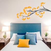 Ginkgo Branch Wall Decal