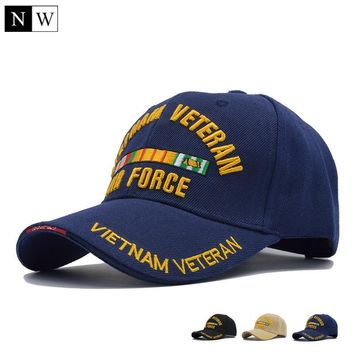 Trendy Winter Jacket [NORTHWOOD] New US Air Force One Baseball Cap Men Brand USAF for Army Cap Trucker Hat Mens Bone Snapback Trucker Cap For Adult AT_92_12