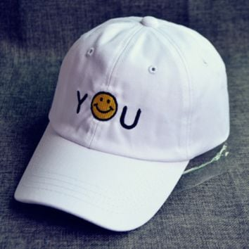You Smiling Baseball Cap Hat