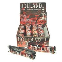 The Big Easy Tobacco Accessories 6015 Holland Quicklite Charcoal
