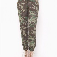 CAMO CHALLI JOGGER PANT - JUST ARRIVED