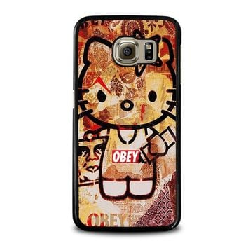 OBEY HELLO KITTY Samsung Galaxy S6 Case Cover