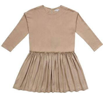 Petit Clair Big Girls' Delilah Camel Dress