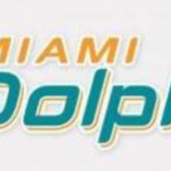 DCCKG8Q NFL Miami Dolphins 3' x 10' Perfect Cut Decal