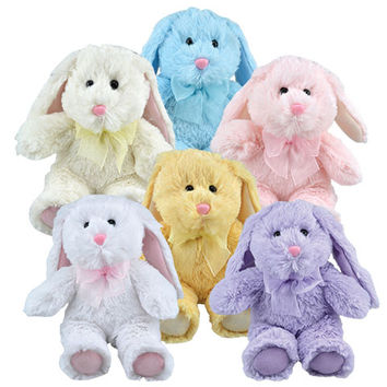 Bulk Plush Floppy-Eared Easter Bunnies, 8 in. at DollarTree.com