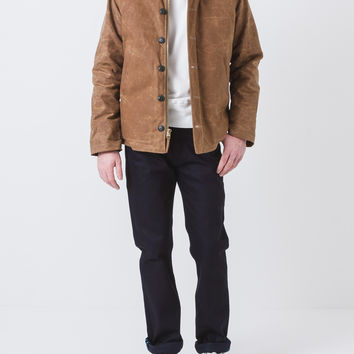 N-1 Mouton Collar Jacket