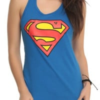DC Comics Superman Girls Tank Top