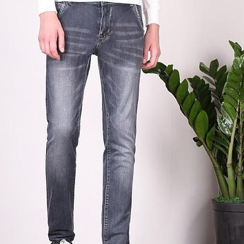 Best Gift For Boyfriend jeans And Husbad Slim Jeans Trousers Factory Esportiva Slim Jeans Pants Men