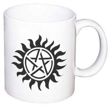 Supernatural Runes protection symbols coffee Mug /  11 oz. Mug