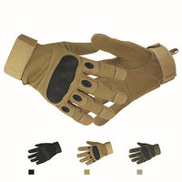 Tactical Military Airsoft Shooting LA35 Motorcycle Armed Full Finger Gloves US L