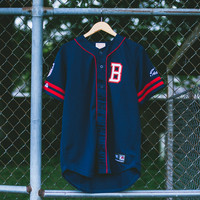 BBC x Majestic On Field Jersey - Navy
