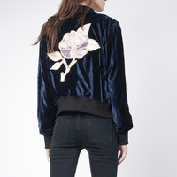 G.I. Velvet Bomber Jacket | NYLON SHOP