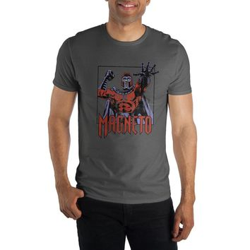 Magneto Men's Gray T-Shirt Tee Shirt