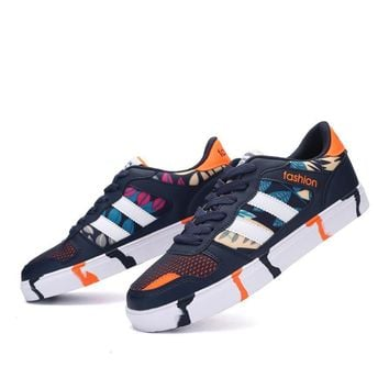 Summer Couple Stylish Casual Fashion Anti-skid Permeable Shoes [6542337475]
