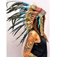 Turquoise Native Headdress