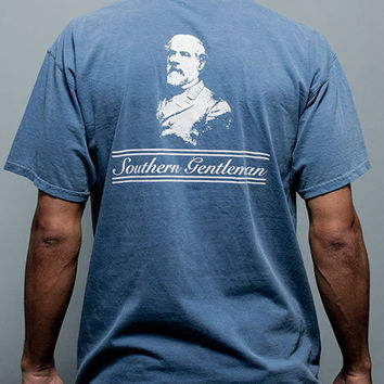 Robert E. Lee Southern Gentleman Pocket Tee Shirt | Rowdy Gentleman