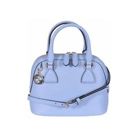 Gucci Women's GG Charm Mineral Blue Mini Dome Crossbody 449661