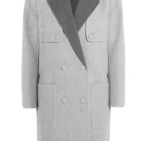 Alexander Wang - Reversible wool-blend coat