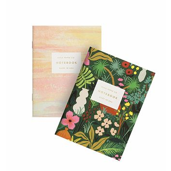 RIFLE PAPER CO. PAIR OF 2 TERRACOTTA POCKET NOTEBOOKS