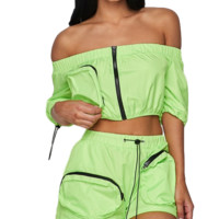 Out Of Pocket Shorts Set