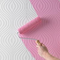 Curvy Paintable Wallpaper by Graham & Brown