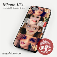 emma watson lips and eye Phone case for iPhone 4/4s/5/5c/5s/6/6 plus