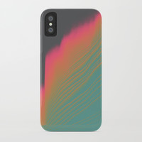 Sunset Tide iPhone Case by DuckyB