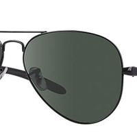 Ray-Ban RB8307 002/N5 58-14 AVIATOR CARBON FIBRE Black sunglasses | Official Online Store US