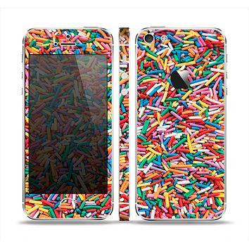 The Colorful Candy Sprinkles Skin Set for the Apple iPhone 5