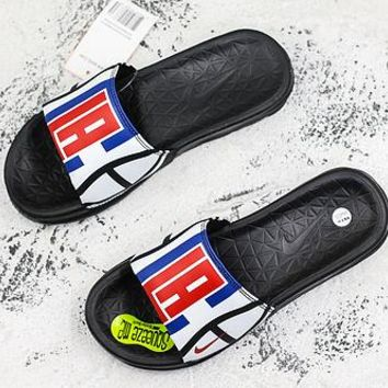 Nike Benassi Solarsoft Nba Los Angeles Clippers Slider Slipper - Best Deal Online