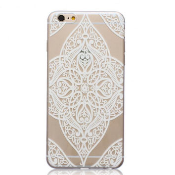 Unique Leaf Hollow Out Case Cover for iPhone 5s 5se 6s Plus Free Gift Box 44