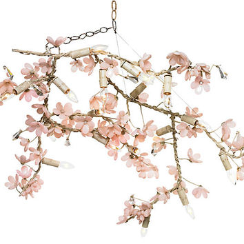 Branches Chandelier, Pink | One Kings Lane