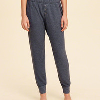 Girls Button-Front Sleep Joggers | Girls Bottoms | HollisterCo.com
