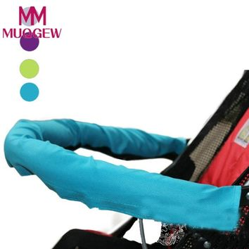 2018 Baby Stroller Accessories Baby Car Unpick And Wash Baby Stroller 600D Oxford Fabric Armrest Set large Children Cart