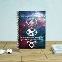 Divergent, Mortal Instrument, And Hunger Game Photo Notebook Auroid