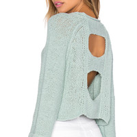 Endless Stories Pullover in Sea Spray
