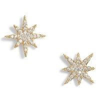 Serefina Small Starburst Crystal Earrings | Nordstrom