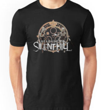 'Welcome to Silent Hill, Halo of the Sun' T-Shirt by piciareiss