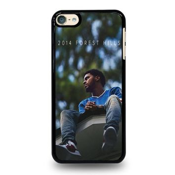 j cole forest hills ipod touch 6 case cover  number 1
