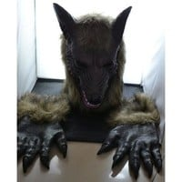 ONETOW Halloween costumes Wolf mask(Head + gloves) [9221626948]