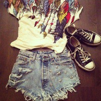 california, converse, crop top, fashion - inspiring picture on Favim.com