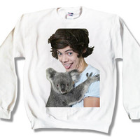 One Direction Harry Styles 004 Sweatshirt x Crewneck x Jumper x Sweater - All Sizes Available