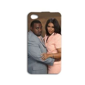 Funny Kim Kanye Fat Cute Couple Phone Case iPhone 4 4s 5 5c 5s 6 6s Plus + iPod