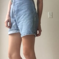 Vintage High Waisted Jean Shorts, vintage Jean shorts, vintage high waisted shorts, high waisted shorts
