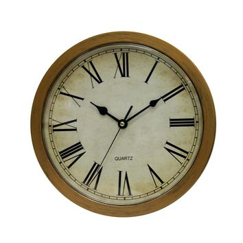 Vintage Wall Clock, Safe Large Secret Jewelry Security Clocks.